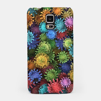 Сolorful viruses Samsung Case miniature