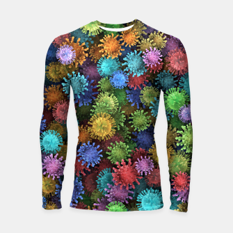 Сolorful viruses Longsleeve rashguard  miniature