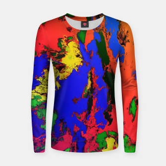 Thumbnail image of External influences Women sweater, Live Heroes
