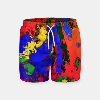 Thumbnail image of External influences Swim Shorts, Live Heroes