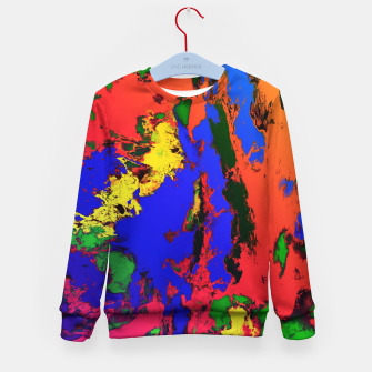 Thumbnail image of External influences Kid's sweater, Live Heroes