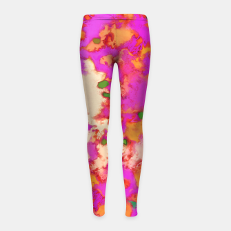 Thumbnail image of Flammable surface Girl's leggings, Live Heroes