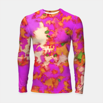 Thumbnail image of Flammable surface Longsleeve rashguard , Live Heroes