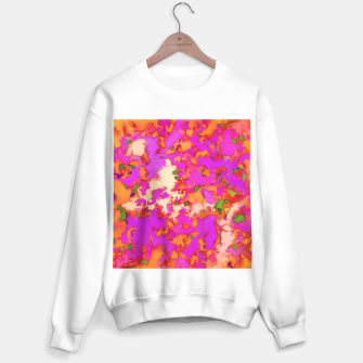 Thumbnail image of Flammable surface Sweater regular, Live Heroes