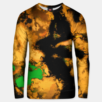 Thumbnail image of Interruption yellow Unisex sweater, Live Heroes