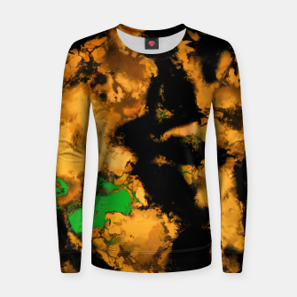 Thumbnail image of Interruption yellow Women sweater, Live Heroes