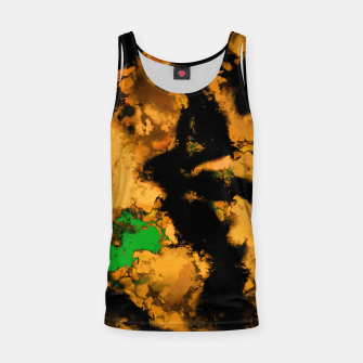 Thumbnail image of Interruption yellow Tank Top, Live Heroes