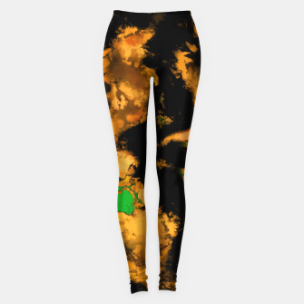 Thumbnail image of Interruption yellow Leggings, Live Heroes