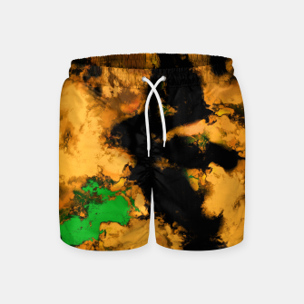 Thumbnail image of Interruption yellow Swim Shorts, Live Heroes