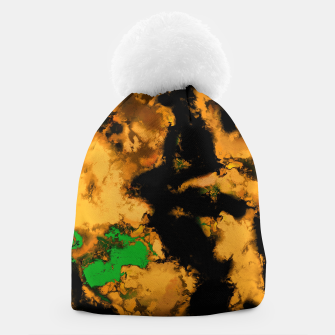 Thumbnail image of Interruption yellow Beanie, Live Heroes