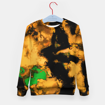 Thumbnail image of Interruption yellow Kid's sweater, Live Heroes