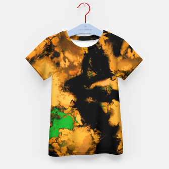 Thumbnail image of Interruption yellow Kid's t-shirt, Live Heroes