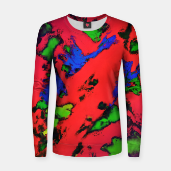 Thumbnail image of Shredded reflections Women sweater, Live Heroes
