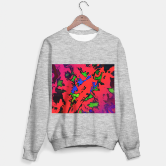 Thumbnail image of Shredded reflections Sweater regular, Live Heroes