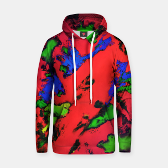 Thumbnail image of Shredded reflections Hoodie, Live Heroes