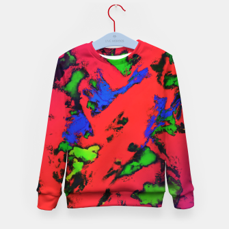 Thumbnail image of Shredded reflections Kid's sweater, Live Heroes