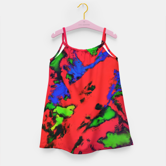 Thumbnail image of Shredded reflections Girl's dress, Live Heroes