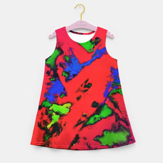 Thumbnail image of Shredded reflections Girl's summer dress, Live Heroes