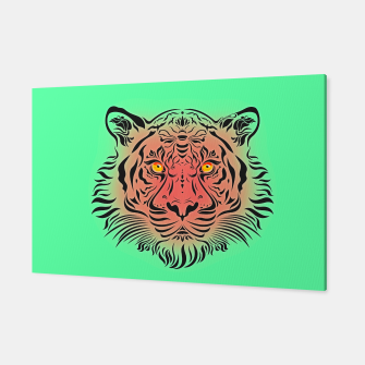 Miniatur Watermelon Tiger by #Bizzartino Canvas, Live Heroes