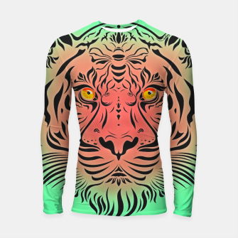 Thumbnail image of Watermelon Tiger by #Bizzartino Longsleeve rashguard , Live Heroes