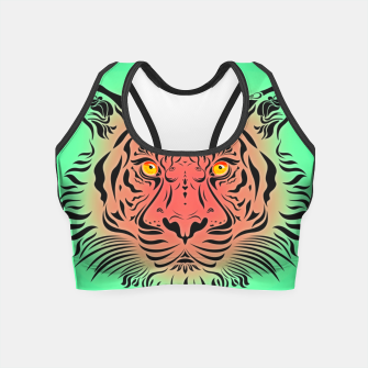 Thumbnail image of Watermelon Tiger by #Bizzartino Crop Top, Live Heroes