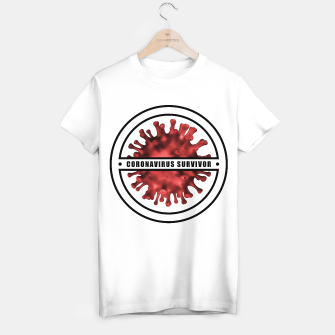 Thumbnail image of Coronavirus Survivor T-shirt regular, Live Heroes