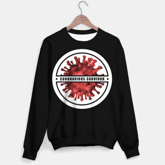 Thumbnail image of Coronavirus Survivor Sweater regular, Live Heroes