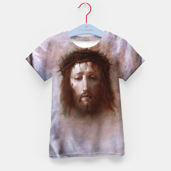 Thumbnail image of The Veil of Veronica by Domenico Fetti Od Masters Reproduction Kid's t-shirt, Live Heroes