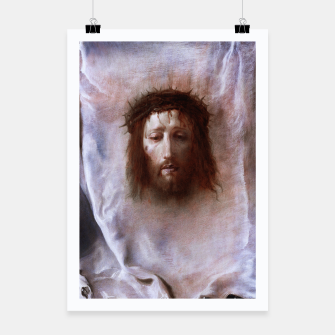 Thumbnail image of The Veil of Veronica by Domenico Fetti Od Masters Reproduction Poster, Live Heroes