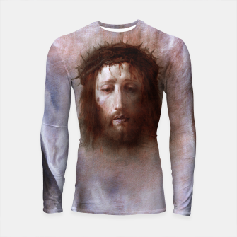 Thumbnail image of The Veil of Veronica by Domenico Fetti Od Masters Reproduction Longsleeve rashguard , Live Heroes