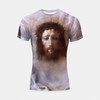 Thumbnail image of The Veil of Veronica by Domenico Fetti Od Masters Reproduction Shortsleeve rashguard, Live Heroes