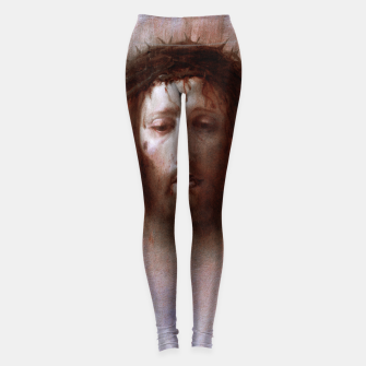 Thumbnail image of The Veil of Veronica by Domenico Fetti Od Masters Reproduction Leggings, Live Heroes