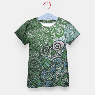 Thumbnail image of Vintage Red Oriental Traditional Moroccan Style Artwork Kid's t-shirt, Live Heroes
