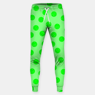 Thumbnail image of Dots With Points Spring Green Sweatpants, Live Heroes