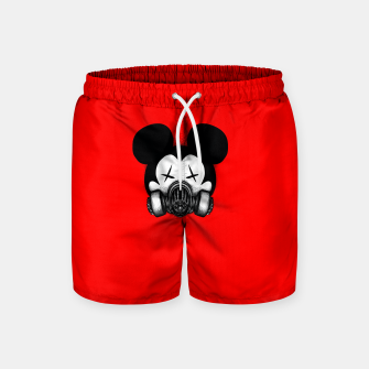Miniatur Stay at Home Swim Shorts, Live Heroes