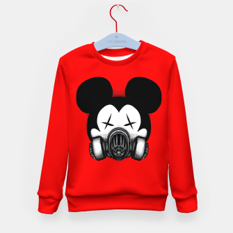 Miniatur Stay at Home Kid's sweater, Live Heroes