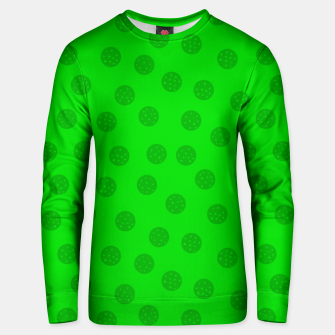 Thumbnail image of Dots with points Green Unisex sweater, Live Heroes