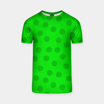 Dots with points Green T-shirt thumbnail image