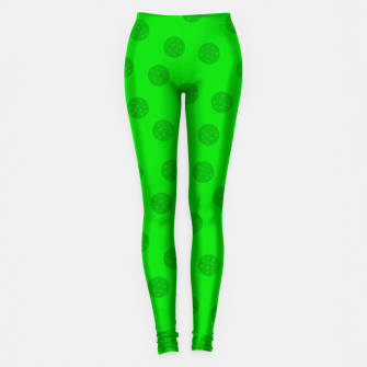 Dots with points Green Leggings thumbnail image