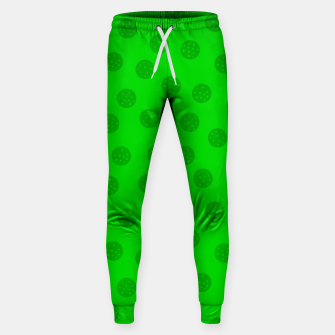 Dots with points Green Sweatpants thumbnail image