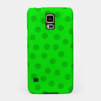Dots with points Green Samsung Case thumbnail image