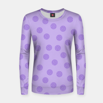 Thumbnail image of Dots With Points Lavender Women sweater, Live Heroes