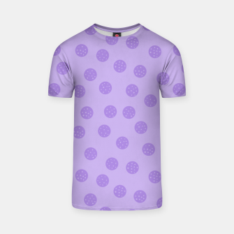 Thumbnail image of Dots With Points Lavender T-shirt, Live Heroes