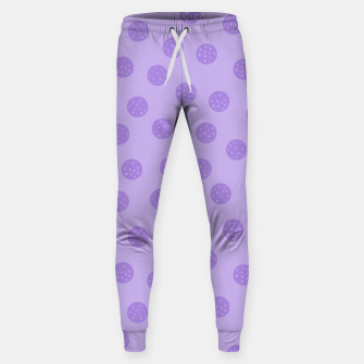 Thumbnail image of Dots With Points Lavender Sweatpants, Live Heroes