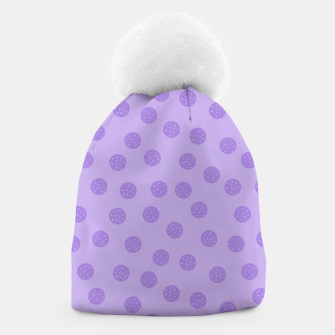 Thumbnail image of Dots With Points Lavender Beanie, Live Heroes