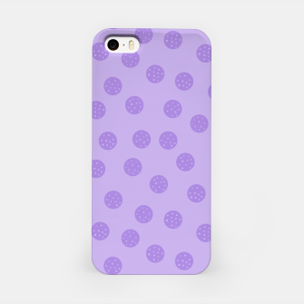 Thumbnail image of Dots With Points Lavender iPhone Case, Live Heroes
