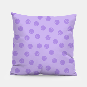 Thumbnail image of Dots With Points Lavender Pillow, Live Heroes
