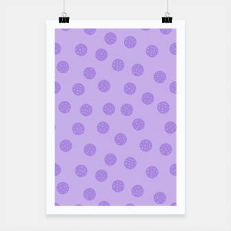 Thumbnail image of Dots With Points Lavender Poster, Live Heroes