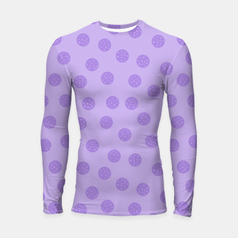Thumbnail image of Dots With Points Lavender Longsleeve rashguard , Live Heroes