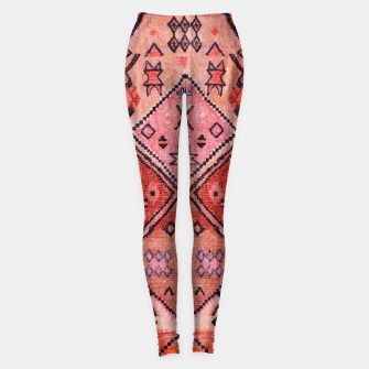Thumbnail image of Vintage Oriental Traditional Moroccan Style Artwork Leggings, Live Heroes
